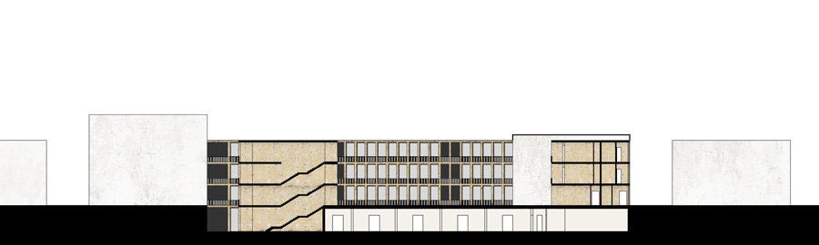 nord sud entire parcel architectural section