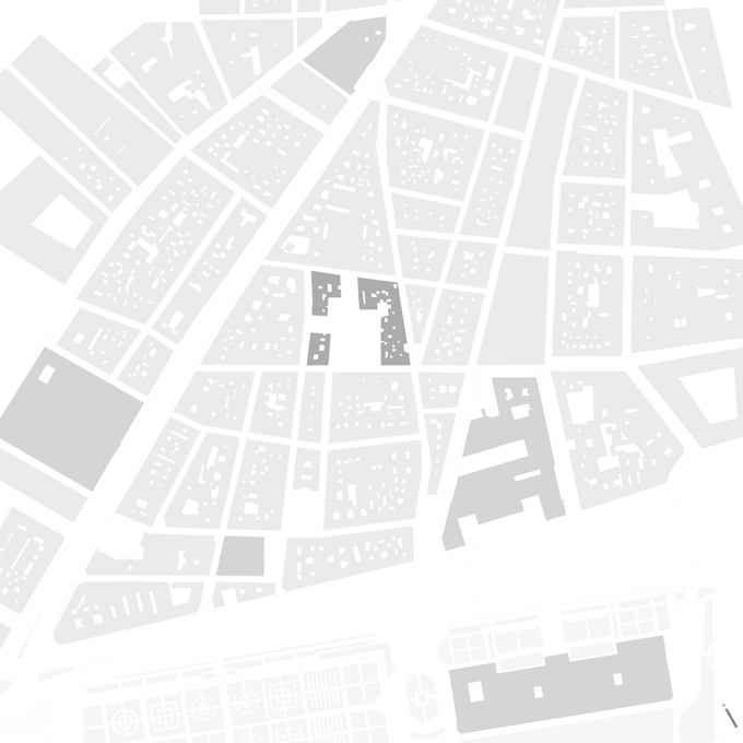 prado museum area in madrid city plan