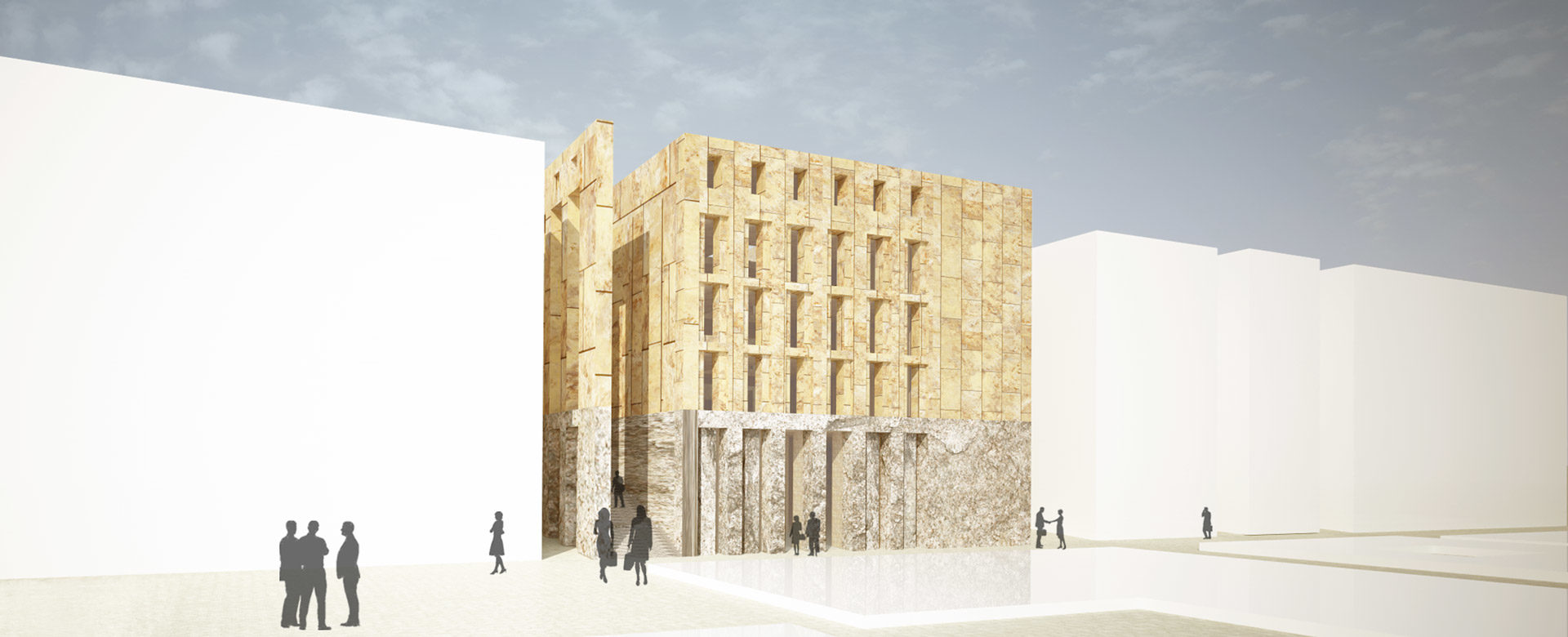 render of facade