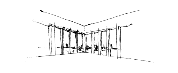 sketch of the concept design